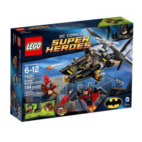 LEGO DC Super Heroes 76011 Атака на Бэтмена