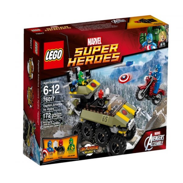 LEGO Marvel Super Heroes 76017 Капитан Америка против Гидры