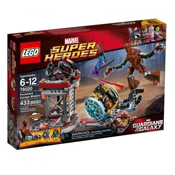 LEGO Marvel Super Heroes 76020 Миссия - побег