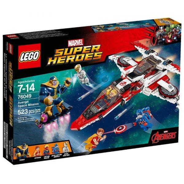 Набор Лего Реактивный самолёт мстителей: Космическая миссия