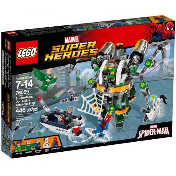 Набор Лего Конструктор LEGO Marvel Super Heroes 76059 Связь Призрачного гонщика