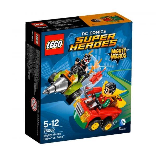 76062 LEGO DC Super Heroes 76062 Робин против Бэйна