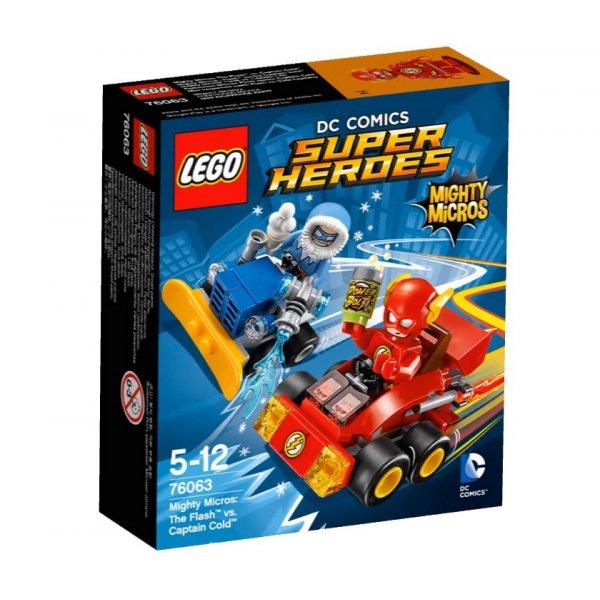 76063 LEGO DC Super Heroes 76063 Капитан Холод против Молнии