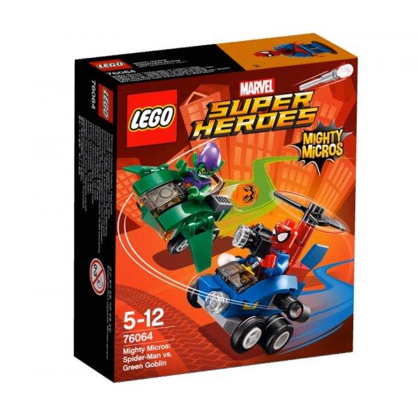 Набор Лего Человек-паук против Зелёного Гоблина