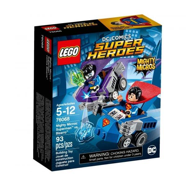 76068 LEGO DC Super Heroes 76068 Cупермен против Бизарро