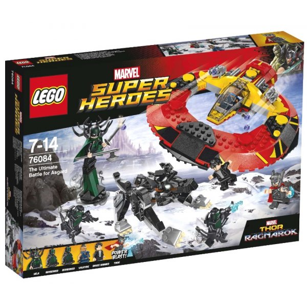 Набор Лего Решающая битва за Асгард
