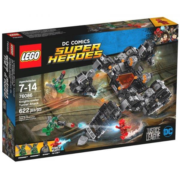 LEGO DC Super Heroes 76086 Лига Справедливости: Сражение в туннеле