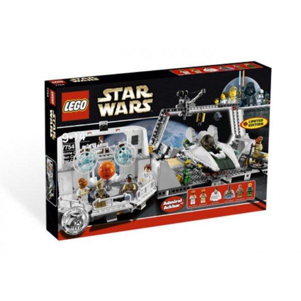 LEGO Star Wars 7754 База Звёздного крейсера Mon Calamari