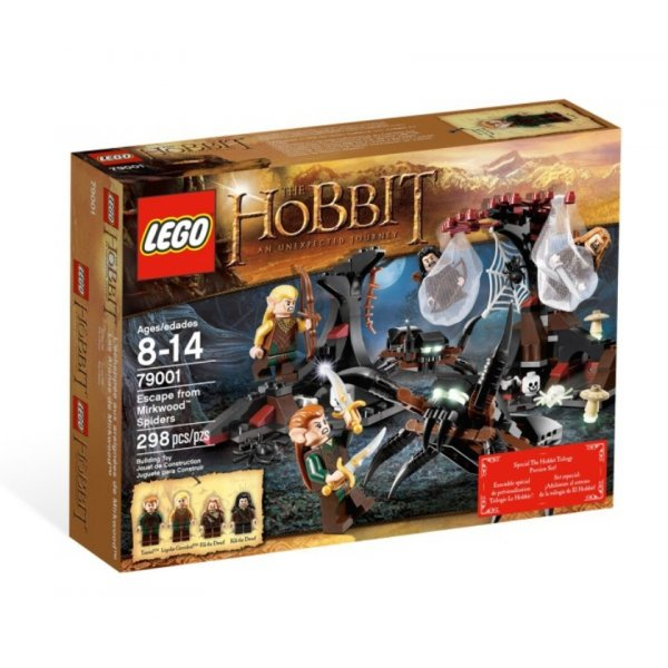 LEGO The Hobbit 79001 Бегство от пауков Лихолесья