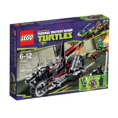 LEGO Teenage Mutant Ninja Turtles 79101 Мотоцикл-дракон Шреддера