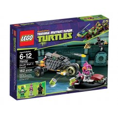 LEGO Teenage Mutant Ninja Turtles 79102 Погоня на панцерном байке