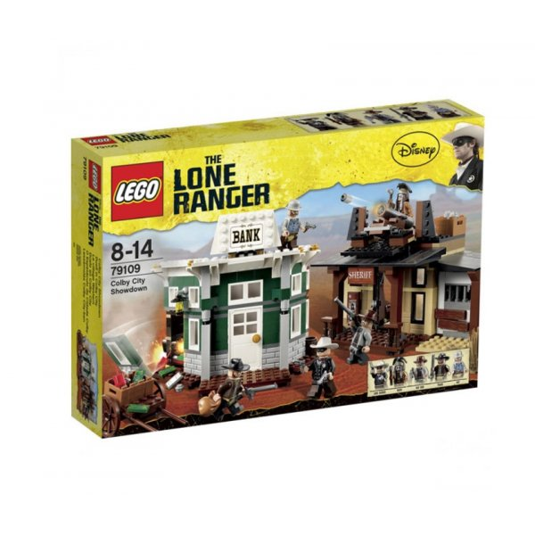 LEGO The Lone Ranger 79109 Поединок в Колби Сити