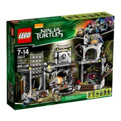 LEGO Teenage Mutant Ninja Turtles 79117 Вторжение в логово Черепашек