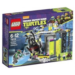 LEGO Teenage Mutant Ninja Turtles 79119 Комната мутации