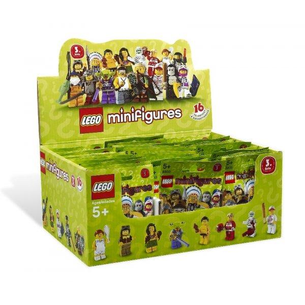 Набор Лего Минифигурка 3-й выпуск