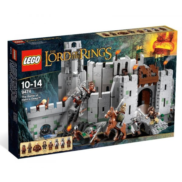 LEGO The Lord of the rings 9474 Битва при Хельмовой Пади