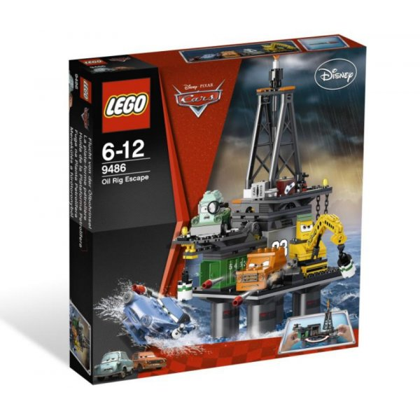 "Набор Лего Конструктор LEGO Cars 9486 Операция ""Нефтяная вышка"""