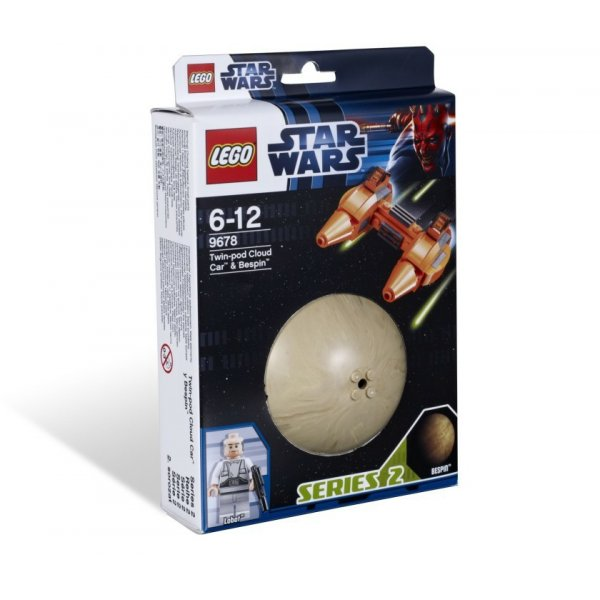 LEGO Star Wars 9678 Двухместный аэромобиль и планета Беспин