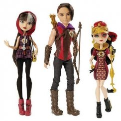 Ever After High 21655866 Набор из 3 кукол - Хантер, Сериз, Лиззи Tricastleon On Hunter Huntsman, Cerise Hood, Lizzie Hearts