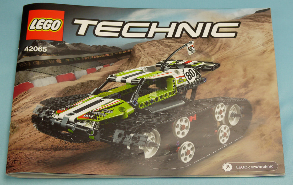 Инструкция Лего 42065